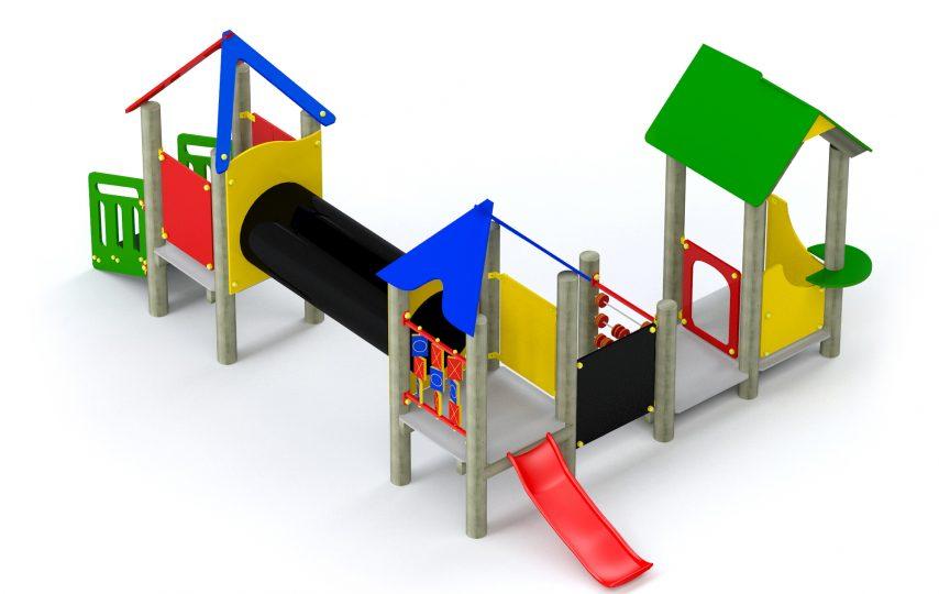 Place zabaw dla małych dzieci